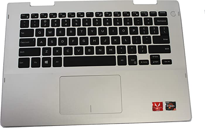 41KVJ Dell Inspiron 5485 Genuine Palmrest with Keyboard and Touchpad