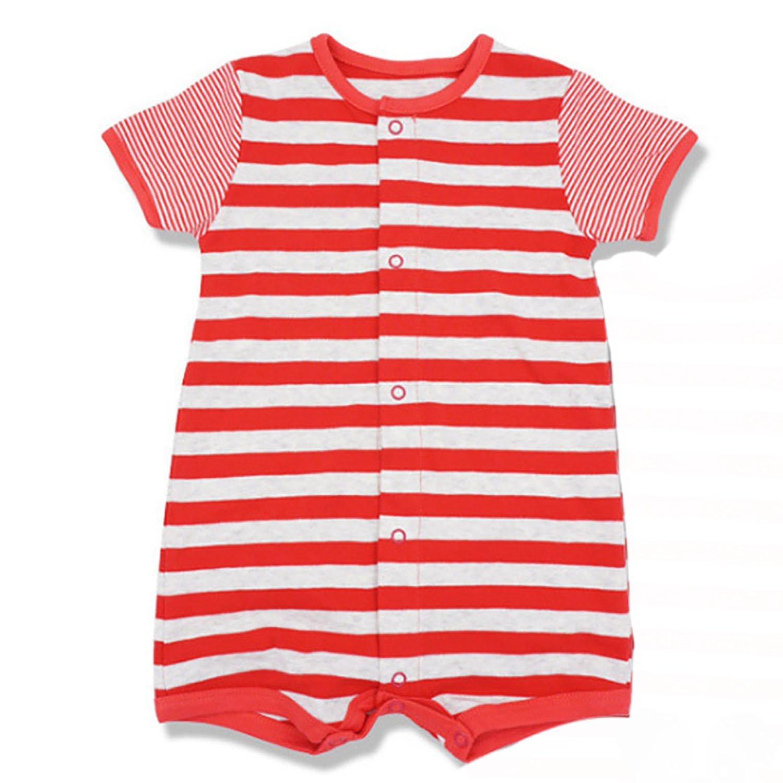 Elsa Wilcox Infant Short Sleeve Jumpsuit Baby Boys Girls Cute Playsuit
