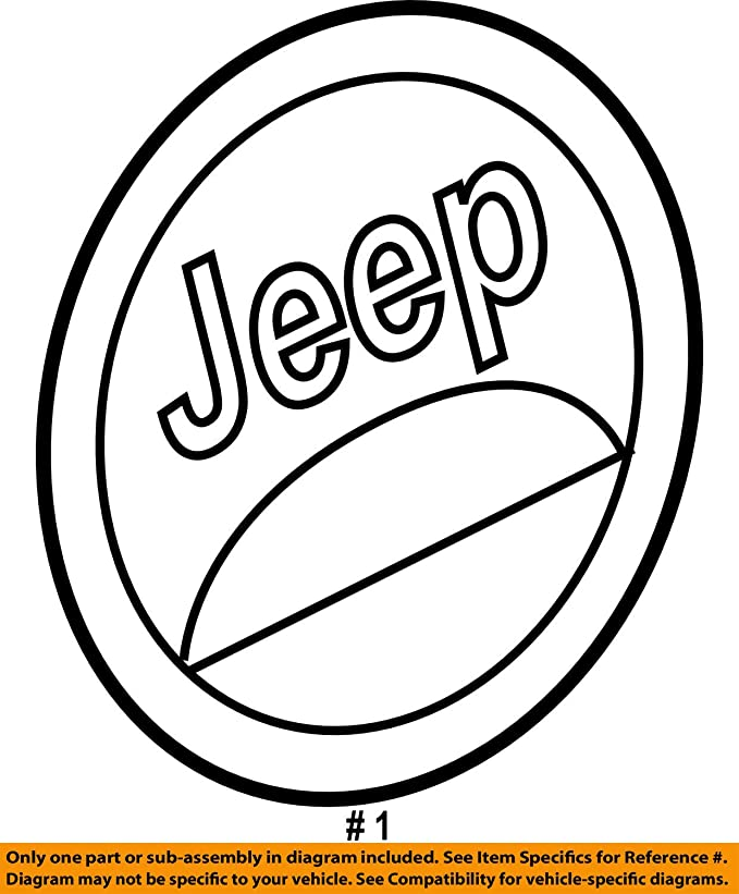 Amazon Com Mopar 55157317ab Oem Jeep Commander 4x4 Trail Rated