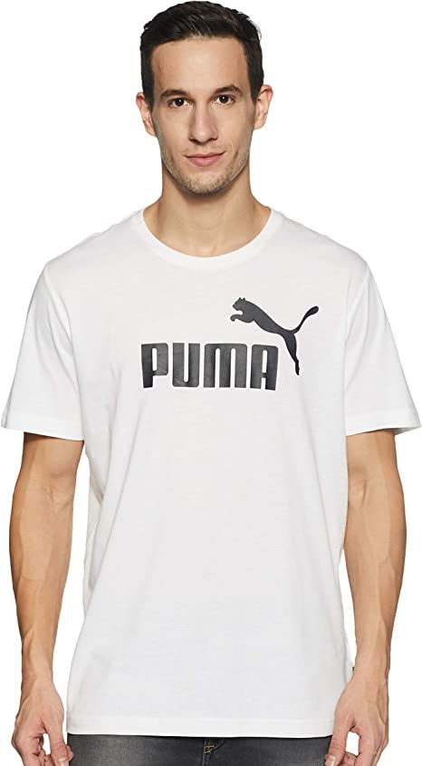 PUMA Essentials Lg T - Camiseta de Manga Corta Hombre: Amazon.es ...