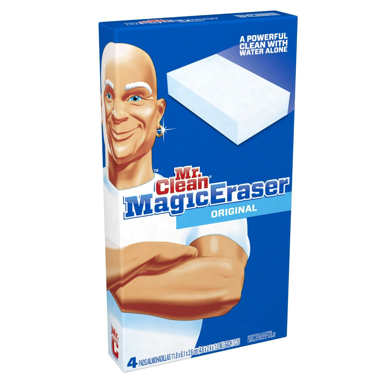 Mr. Clean Magic Eraser, New Value Pack Size- 48 Pads