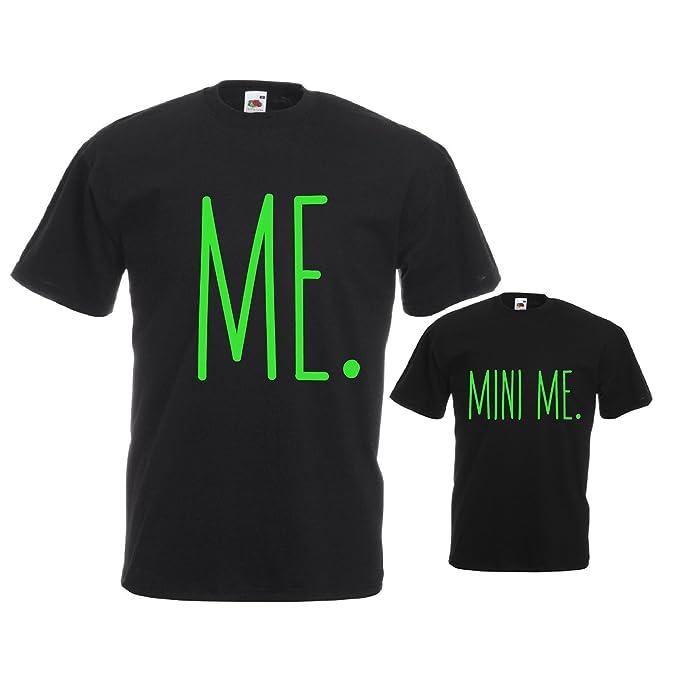Love Print Coppia Di T Shirt Personalizzate Per Padre E Figlio