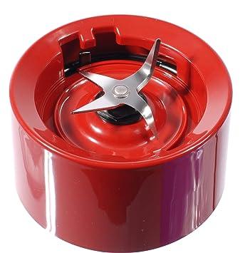 Base de jarra con cuchillas para batidoras KitchenAid rojo imperio (modelos KSB555, KSB565, etc).: Amazon.es: Hogar