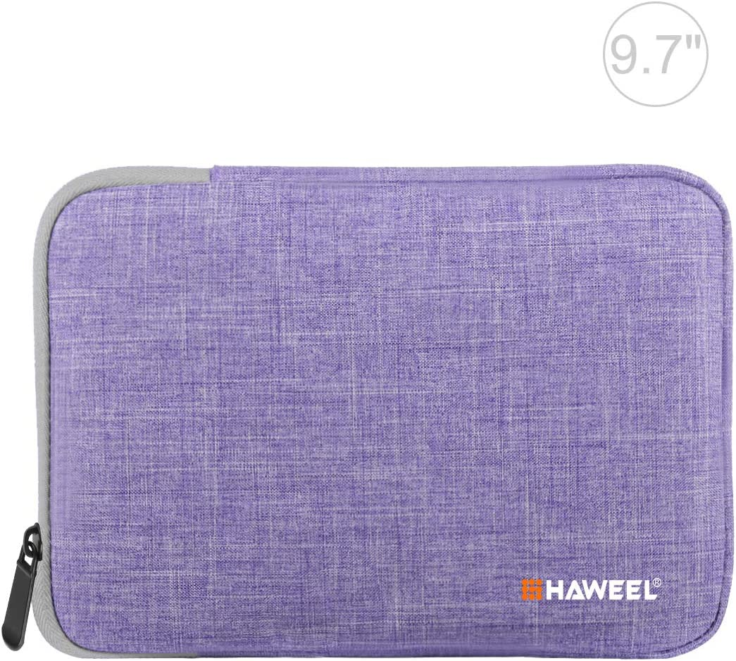 Haweel 7.9 Inch iPad Mini Sleeve Case, Water Resistant Shockproof Protective Bag for iPad Mini 4/iPad Mini 3/iPad Mini 2/Samsung Galaxy Tab S2 8.0/Tab A 7.0/Asus Zenpad Z8s (7.9 Inch, Purple)