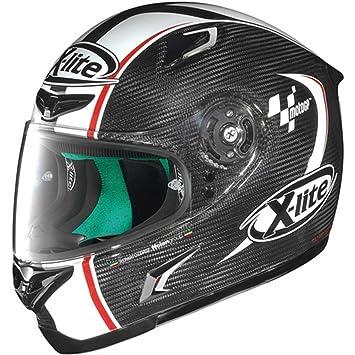 X-Lite X-802RR Ultra Carbon moto GP casco integral Dekor Talla:XL