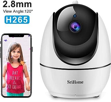 Opinión sobre Sricam SH026 - Videocámara de vigilancia 1080P, cámara WiFi Interior con Control Remoto con Audio bidireccional, Sensor de Movimiento, visión Nocturna, versión Italiana