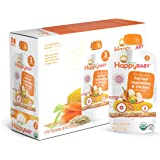 Happy Baby Organic Stage 3 Baby Food, Hearty Meals, Harvest Vegetables & Chicken with Quinoa, 4 oz (Pack of 16)