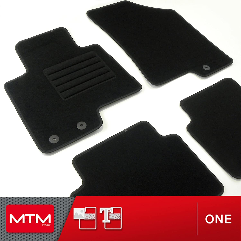 MTM Tapis de Sol 3008 II 11.2016- sur Mesure en Velours Noir One fr7292 cod