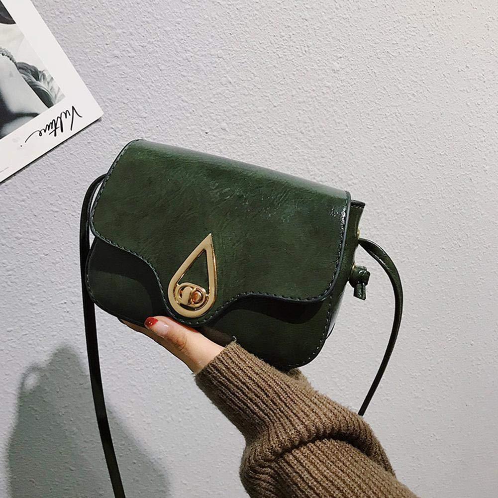 Amazingdeal Vintage Women Messenger PU Leather Flap Shoulder Bag Crossbody Handbags