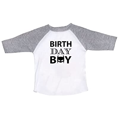 Funny Threadz Birthday Raglan Boy Batman