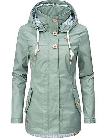 0357169f97c30e Ragwear Damen Übergangs-Jacke Like You 5 Farben XS-XXL  Amazon.de   Bekleidung