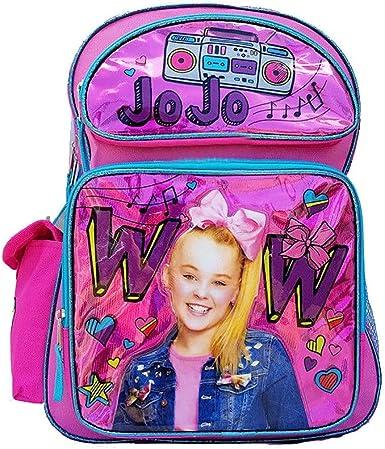 """JoJo Siwa 16/"""" Large School Backpack Girl Backpack NEW"""