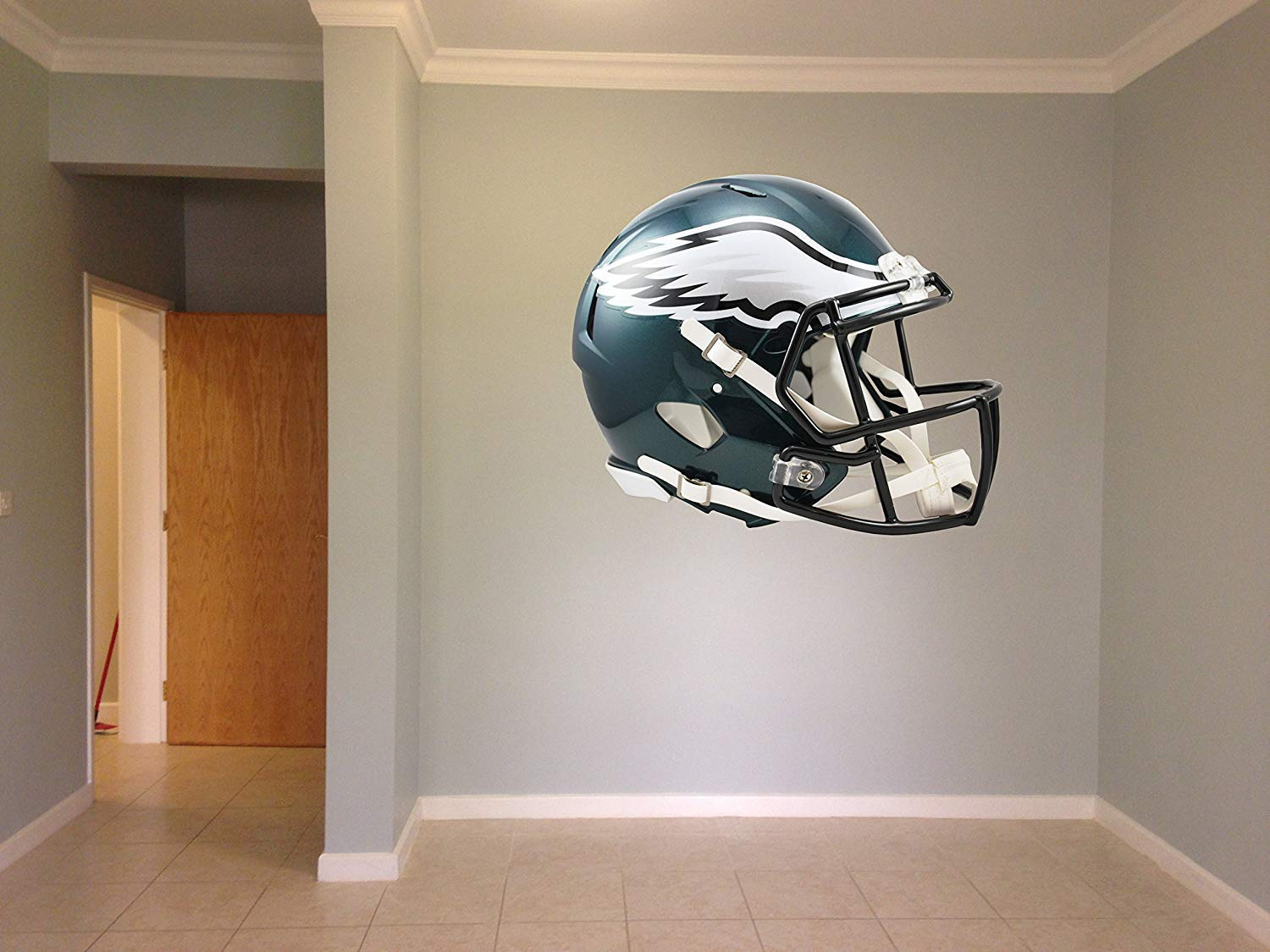 Eagles NFL Decal, Philadelphia Wall Decal, Eagles Stickers, Philadelphia Eagles Large Decal, Eagles Decal, Eagles Sticker, Eagles Wall Decal, Philadelphia Eagles Decal, Eagles Decor pf73 (40'' x 48'') by PillowFigtArt
