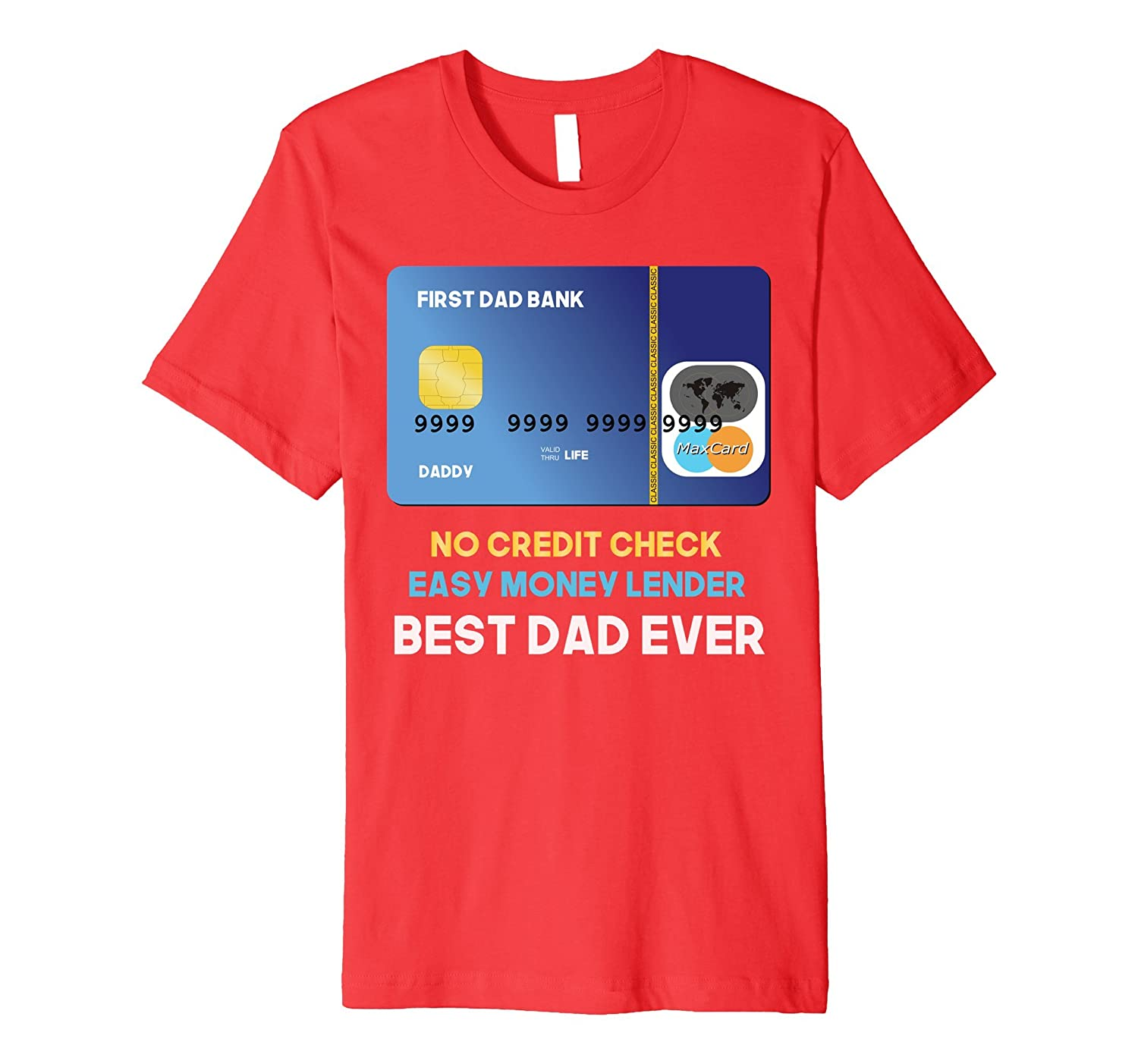 97fd434b Mens Funny Money Lender Best Dad Ever Humor Father's Day T-shirt-Teevkd