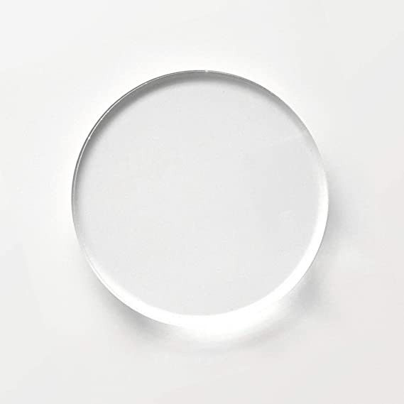 20PCS Acrylic Plexi Circle Round Disc,Acrylic Display Base,Acrylic Disks Plexiglass Circles 1//8 Black, 2