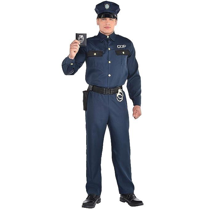 Amazon.com: Party City - Disfraz de policía para hombre ...