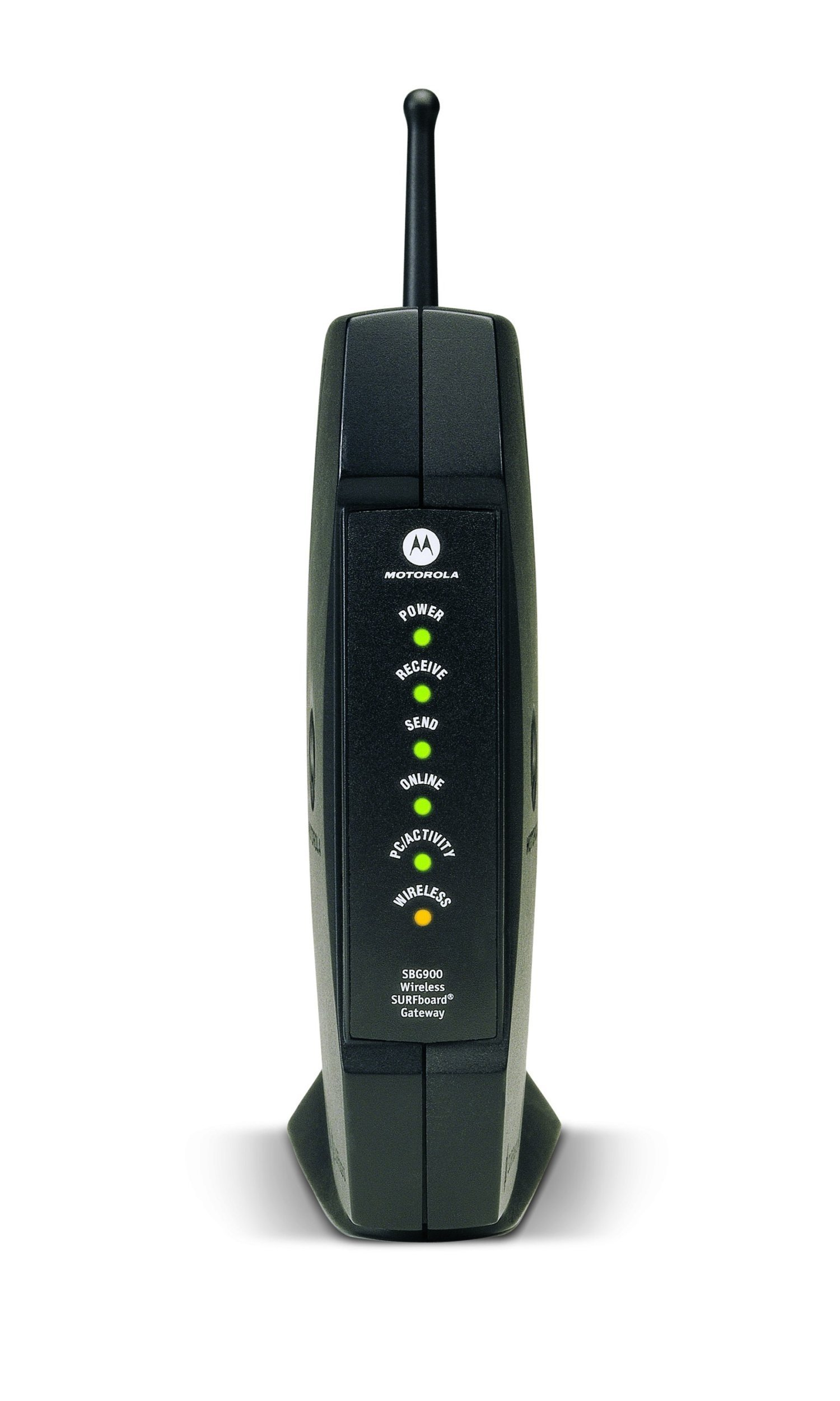 Motorola SURFboard SBG900 DOCSIS 2.0 Wireless Cable Modem Gateway (Black) by Motorola