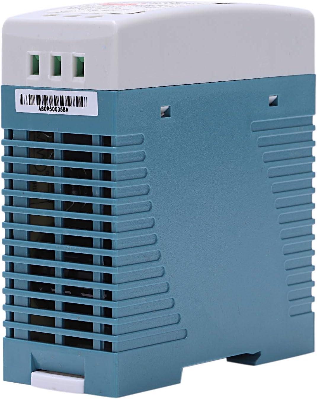 ACAMPTAR MDR-60 24V 60W Din Fuente de Alimentaci/ón de Carril Ac//Fuente de Alimentaci/ón Del Regulador de Voltaje Del Conductor 110V 220V