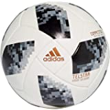 timeless design 53f6c 5f69e Adidas World Cup COMP Synthetic Football, Mens Size 5 (WhiteBlackMetallic