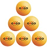 GOGO 60PCS 3-Star 40mm Ping Pong Balls Advanced Training Table Tennis Ball