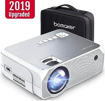 Amazon.com: Bomaker Mini Proyector, actualizado 4000 Lux con ...