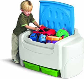 product image for White Sort 'N Store Toy Storage Box with Lid Containers and Chest Organizer Bins for Kids Pet Toys,books,cars and Accessories!