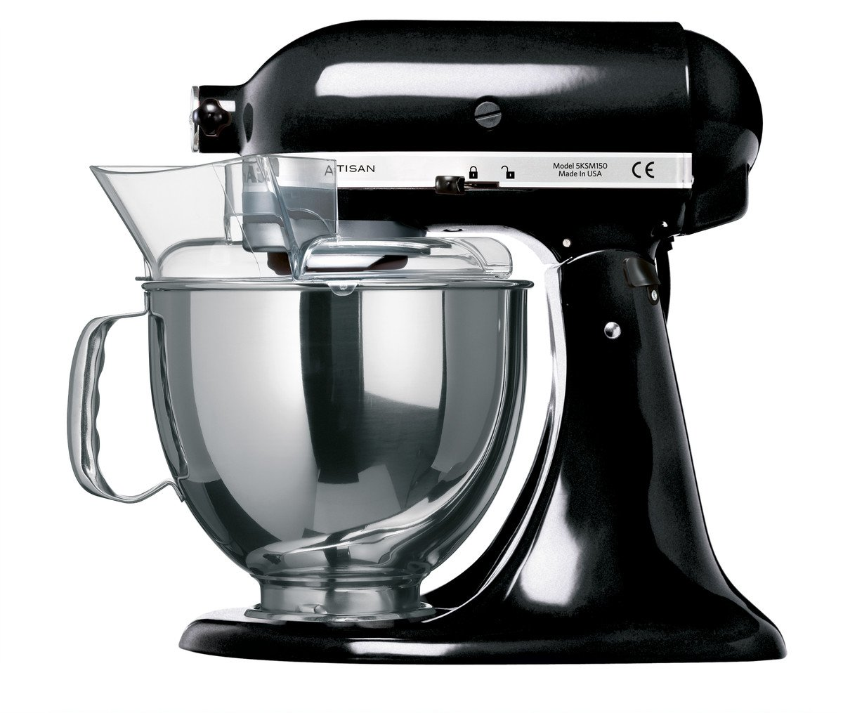 KitchenAid Artisan KSM150BOB Stand Mixer Black: Amazon.co.uk: Kitchen U0026 Home