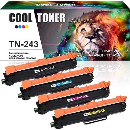 Tóner frío compatible para TN-243BK TN-243C TN-243Y TN-243M (sin ...