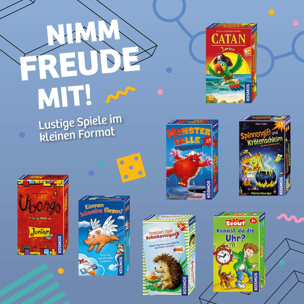 Kosmos Mitbring-Spiele Scouty 711016 ErdBär und RäuBär