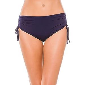 2bde0d0f02 Beach House Women's Hayden High Waisted Bikini Swimsuit Bottom with Adjustable  Side Ties