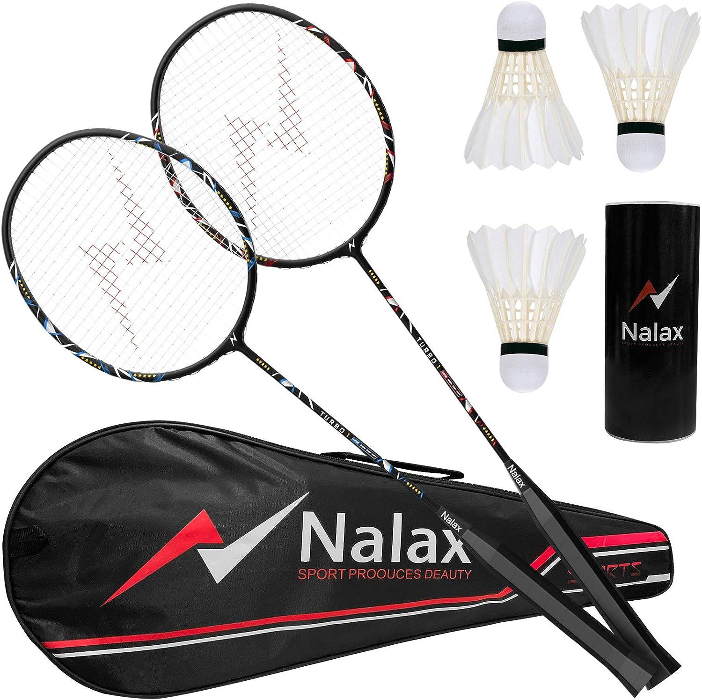 New 2 Players Badminton Racquet Set Racket With The Bag Badminton Bat