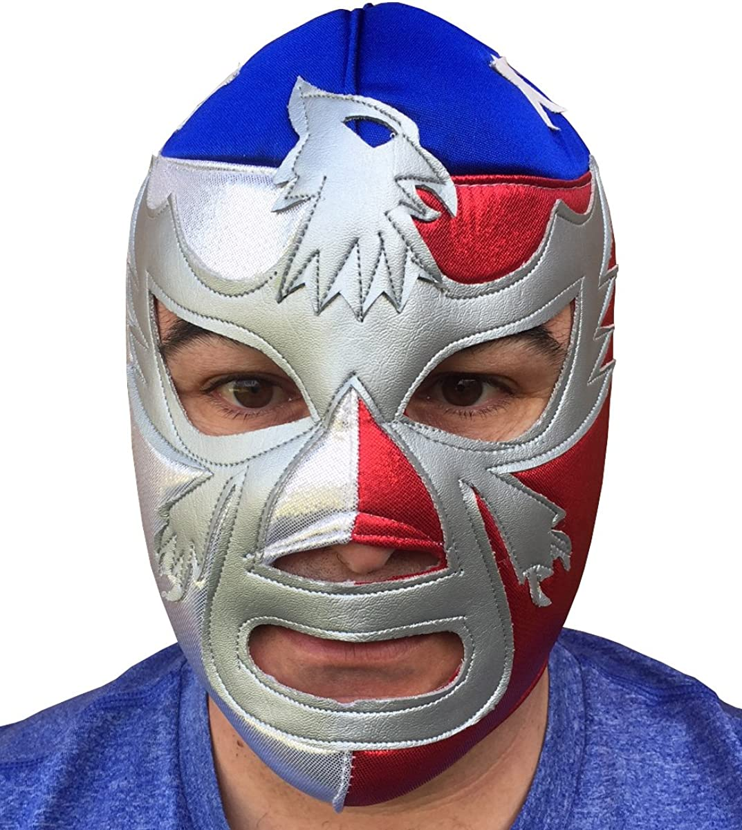 Brand New Youth Young Adult Size Patriot Lucha Libre Wrestling Mask