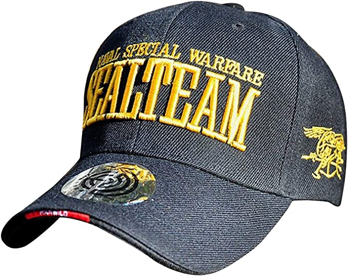 yanyuz Naval Special Warfare SEALTEAM Sombrero de Bordado ...