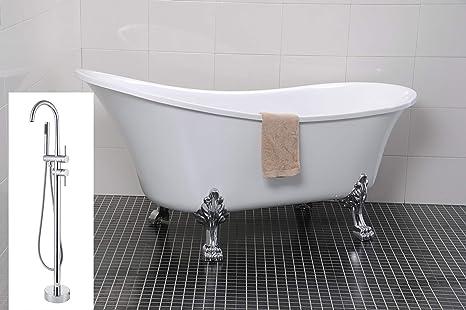 Vasca Da Bagno Con Piedini : Vasca da bagno autoportante con piedini ad artiglio cm