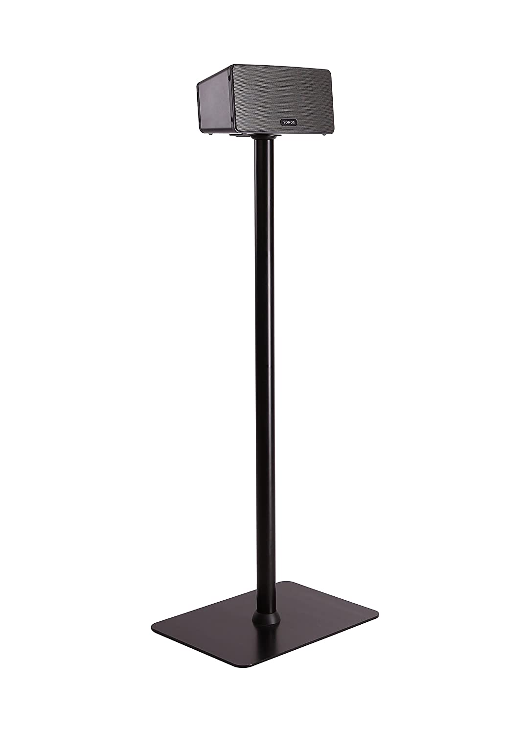 Fixed Height Speaker Stand for Sonos Play 3 (Black) Evermount EM-SP3B