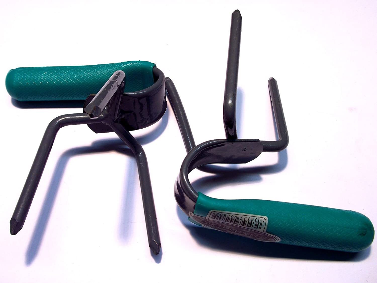 Green Jem Hand Held Rake / claw / Cultivator/ Weeder Set Of Two (2) GTSM Green Gem