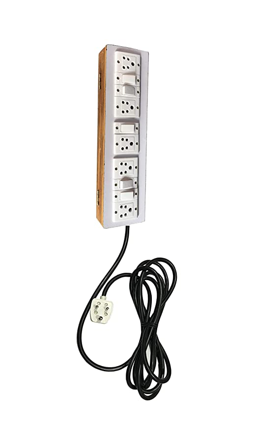 c17bece3a3b Buy Electric Extension Wooden Board (5 Switches