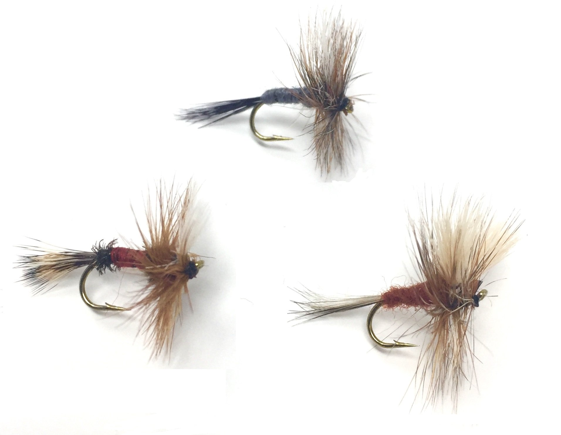 kesoto Woolly Bugger Trout Flies White /& Yellow 2 Pack Fly Fishing Flies
