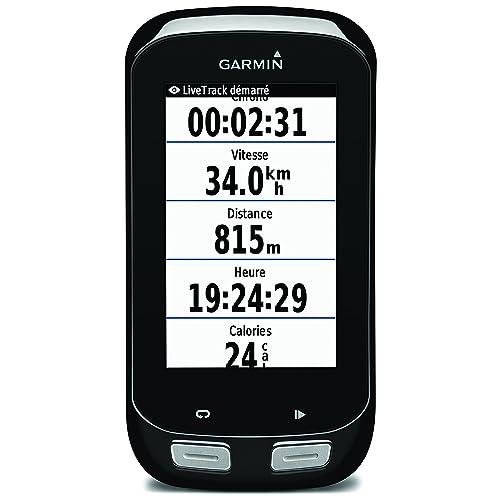Garmin Edge 1000 Kit GPS Bike Computer con Touchscreen e Navigazione, Mappa Europa e Notifiche Smart, Fascia Cardio Soft Premium, Sensori Cadenza e Velocità, Nero/Antracite