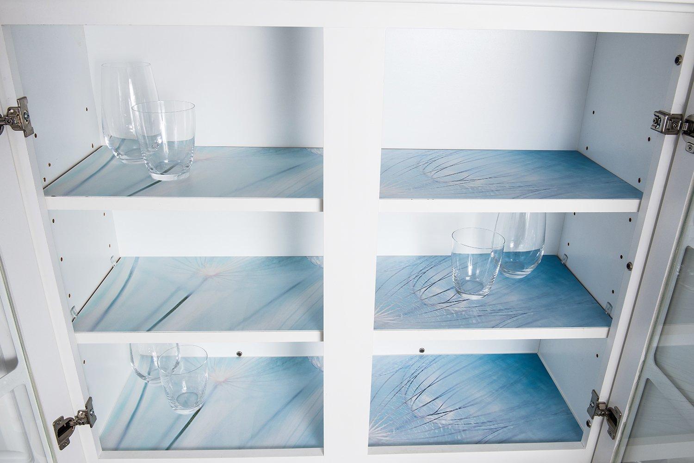 Amazon.com - Sterling Shelf Liners Rigid Non-Adhesive Shelf Liner ...