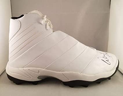 3ca6eb80f5789 Warren Sapp Autographed Signed Nike Game Issued Cleat Tampa Bay ...