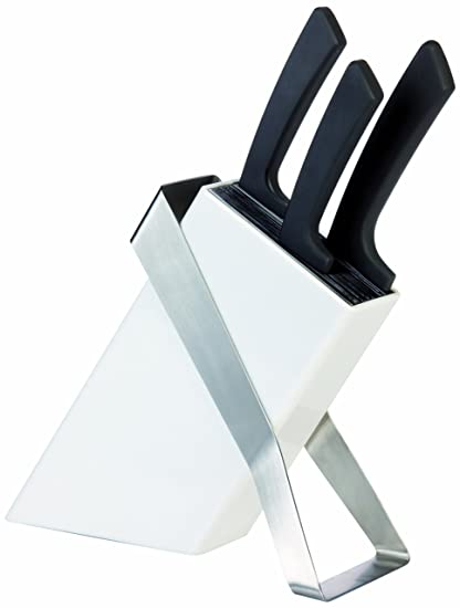 Compra Tescoma tacoma con 3 cuchillos ceramicos linea azza ...