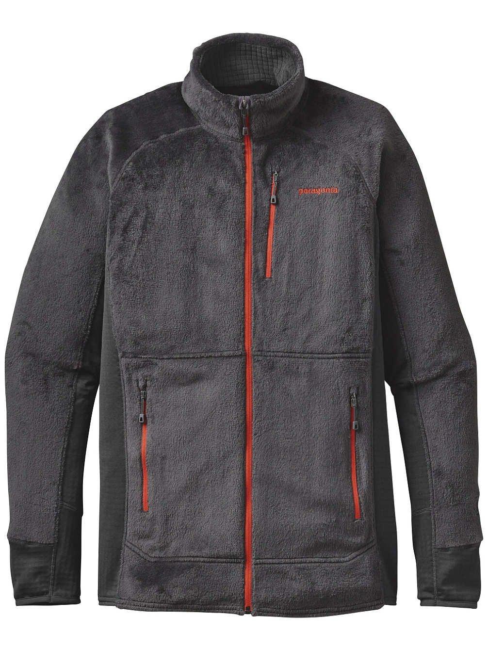 Patagoniaメンズr2ジャケット B01HBOT9MM X-Large|Forge Grey W/Cusco Orange Forge Grey W/Cusco Orange X-Large