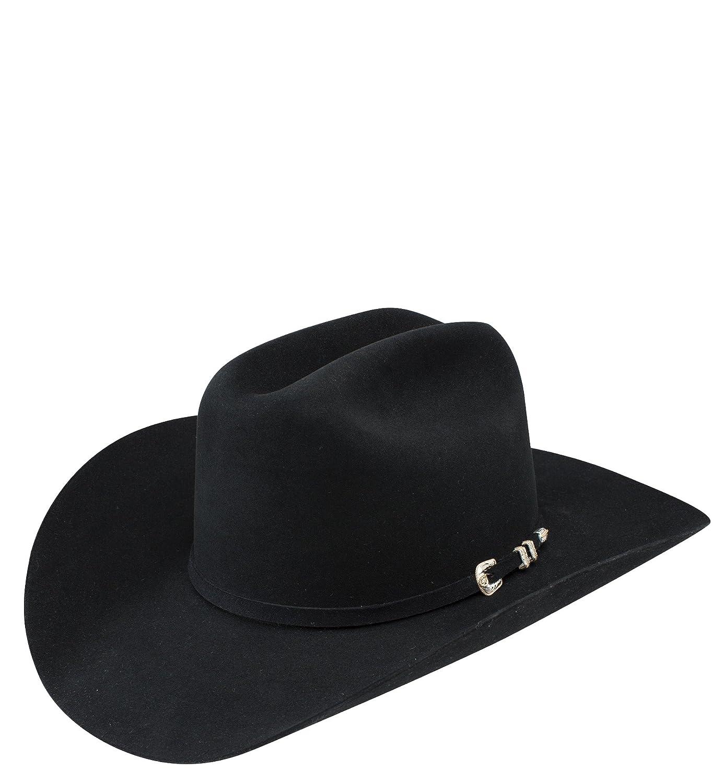 c67dca3e6eb Resistol 100X Beaver Fur Felt Top Money Western Hat at Amazon Men s  Clothing store