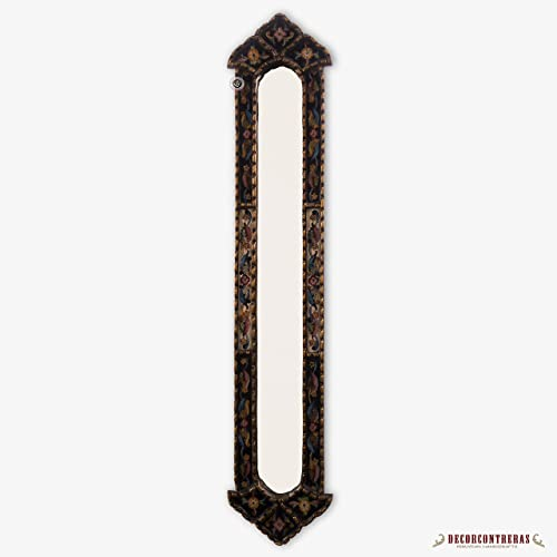 long narrow mirror horizontal tall narrow rectangular wall mirror decorative long mirror gold wood framed wall mirror amazoncom