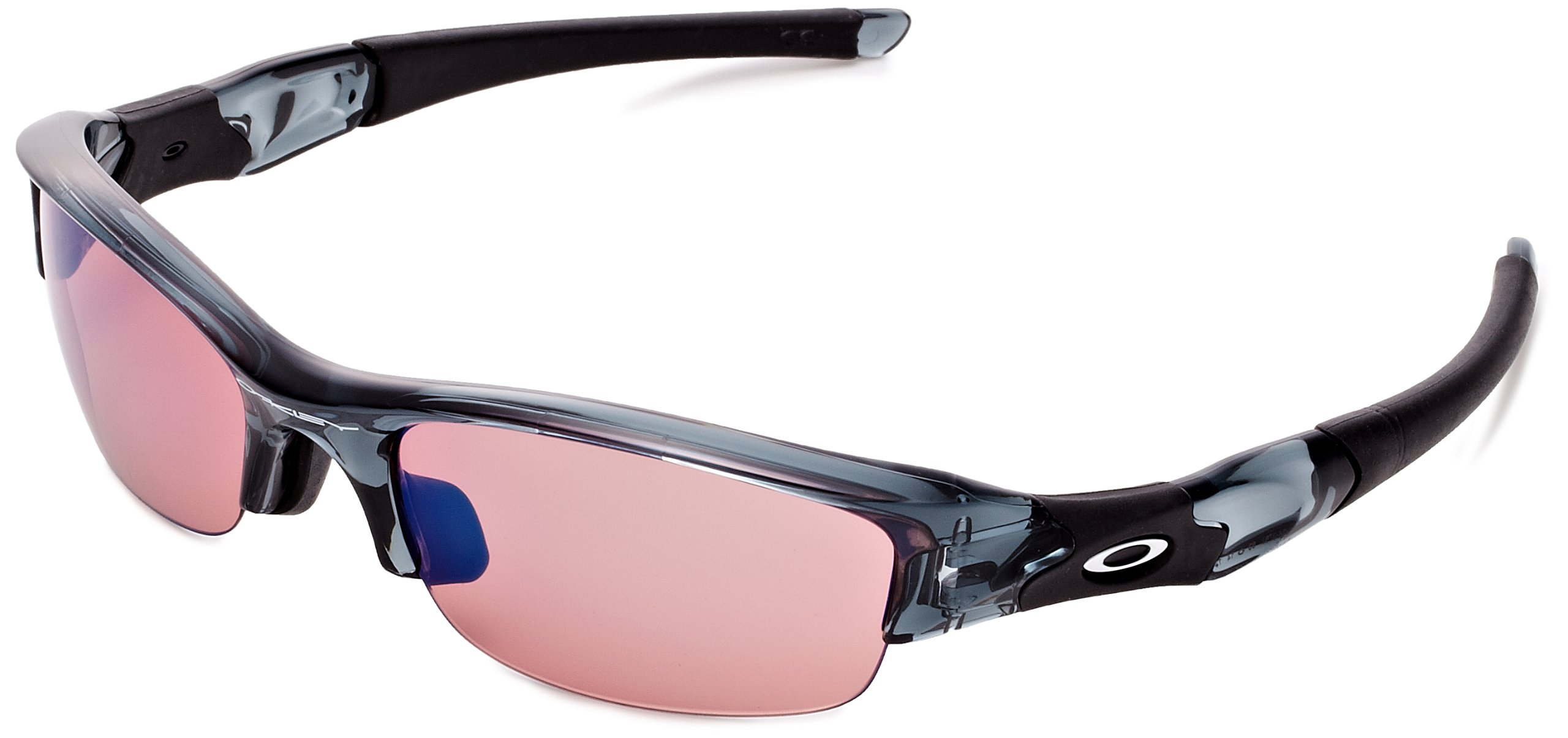 Oakley - Flak Jacket Asian Fit - Crystal Black Frame-G30 Iridium Lenses