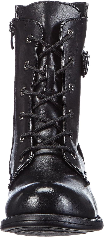 Rieker women lace up boot black 96724 01 mfvEz