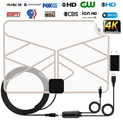 Amazon.com: Antena de TV Skywire amplificada HD Digital para ...