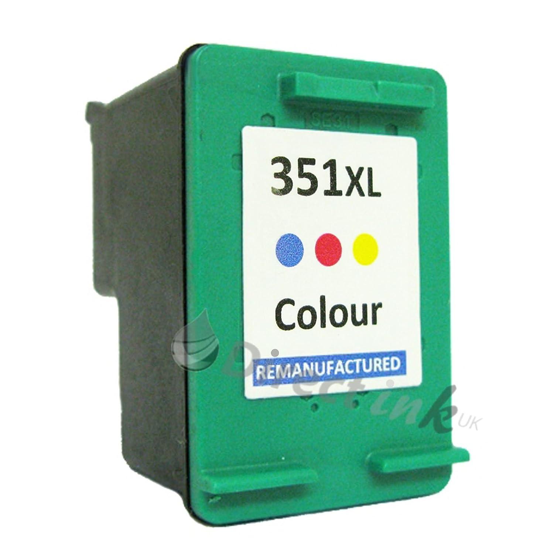 Remanufacturado HP 351 X L Cartucho de tinta de repuesto, para ...