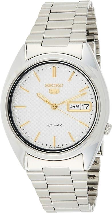 Seiko Reloj de Pulsera SNXG47K1: Seiko: Amazon.es: Relojes